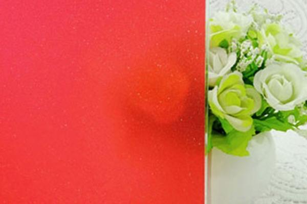 红色磨砂膜