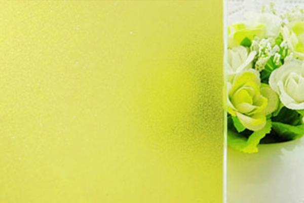 黄色磨砂膜