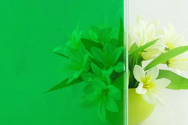 绿色玻璃膜