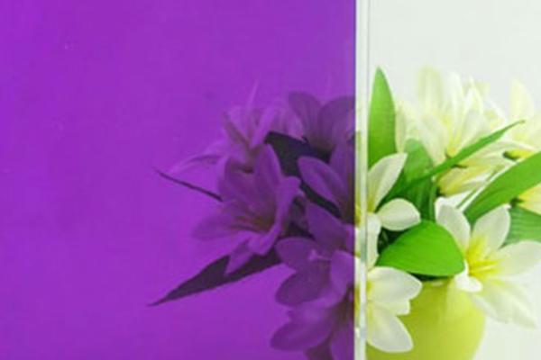 紫色玻璃膜